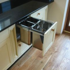 Blum Kitchen Bins Cost Of Custom Cabinets Waste Ideas Trash Bin Pull Out Drawer Dimensions