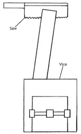 Mortise Chisel Diagram