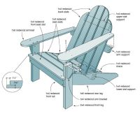 PDF DIY Classic Adirondack Chair Plan Download clock kits ...
