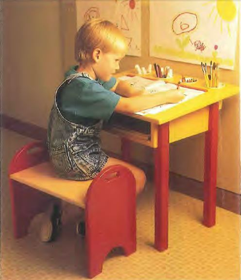 Childs Desk and Bench Plans  Woodwork City Free