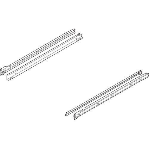 Blum 230E8000 32in Standard 230E Epoxy Drawer Slide, Cream