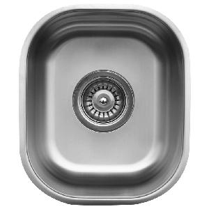 12 undermount stainless steel bar prep sink stainless steel karran u1113