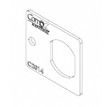 Compx National 2014-2C, Strike for Disc and Pin Tumbler Locks