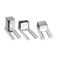Armotec R00-7300-WT, DVD Storage Trays, Flip and See Rails