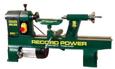 Record Power Wood Lathe Chucks