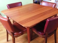 Table | Refinishing | Oak | Woodworker's Journal | How To