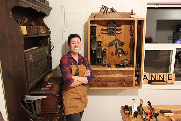 Anne Briggs Bohnett Woodworking And Farming In Seattle Woodworking Blog Videos Plans