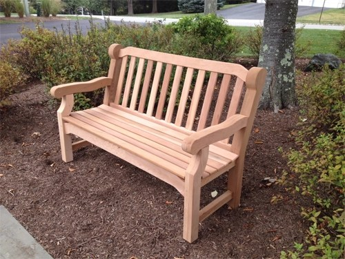 wood lawn chair small dining chairs cedar bench - woodworking | blog videos plans how to