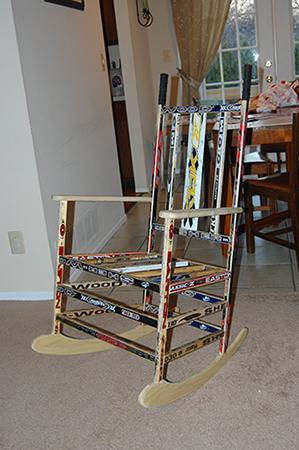 Hockey Stick Chair  Woodworking  Blog  Videos  Plans