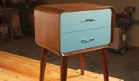 Mid-century Modern Nightstand - Woodworking | Blog ...
