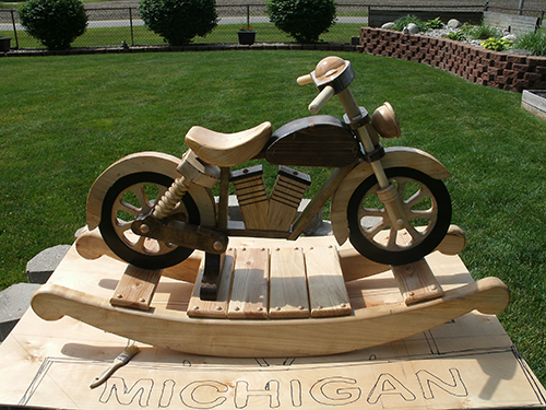 maple rocking chair public seating chairs motorcycle rocker - woodworking | blog videos plans how to