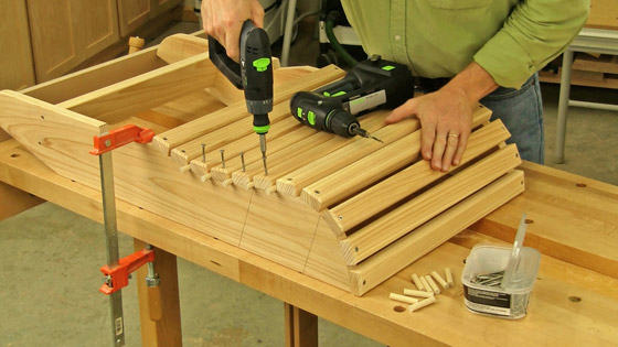 PROJECT PLAN AND VIDEO  Adirondack Chair Plans  Pt 1
