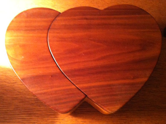 HeartShaped Jewelry Box  Woodworking  Blog  Videos