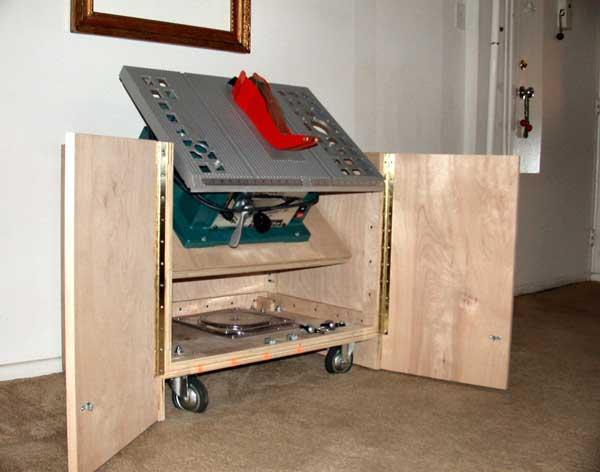 Table Saw Storage Cabinet Plans Listitdallas