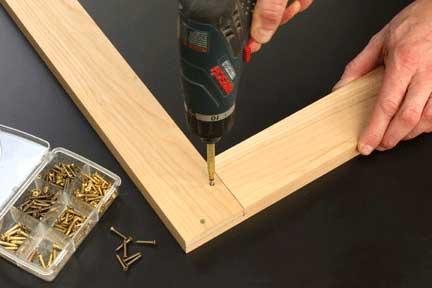 Half Lap Miter Joint Making Frames Dado Woodoworking