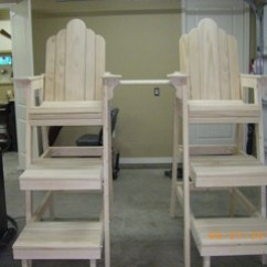 How To Build A Lifeguard Chair 1 2 Slipcover Chairs Woodworking Blog Videos Plans