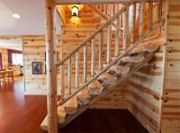 Log Railings and Stairs | Cedar and Pine Log Railing Systems
