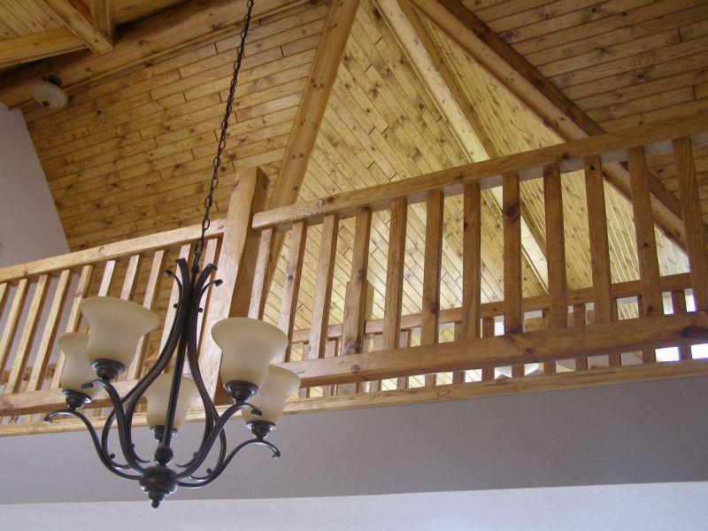 Log Railings And Stairs Cedar And Pine Log Railing Systems