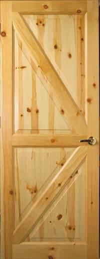 Custom Interior Wood Doors   Cedar & Knotty Pine Doors