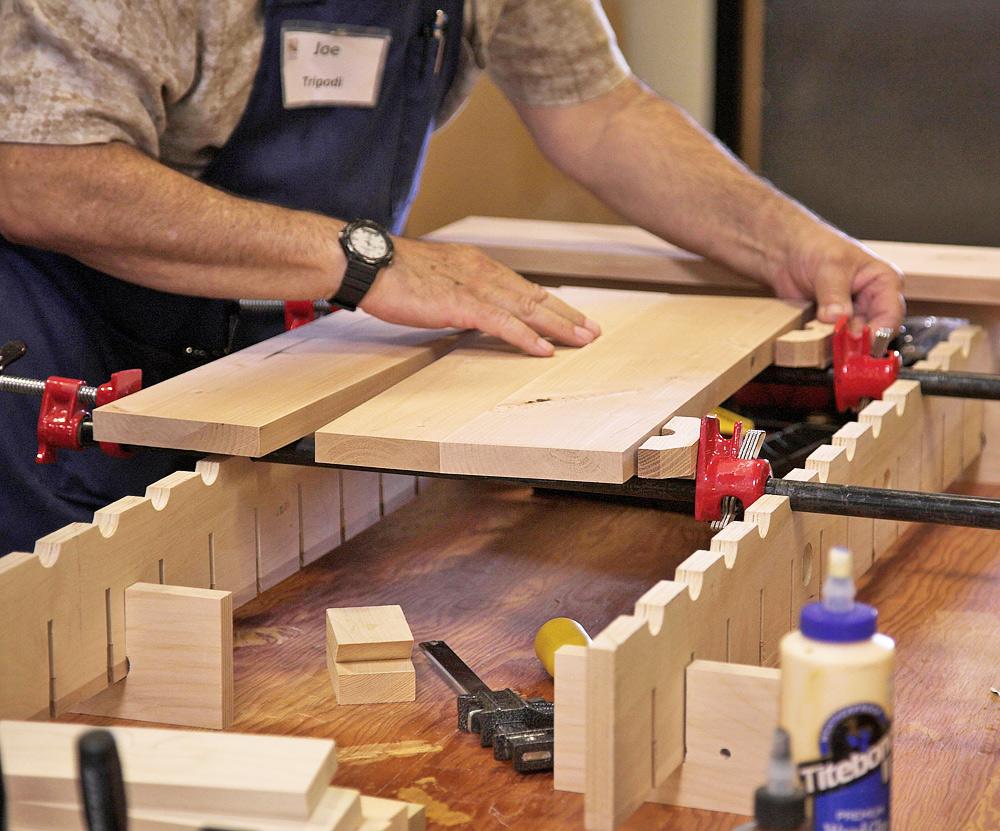 Panel Glue Up