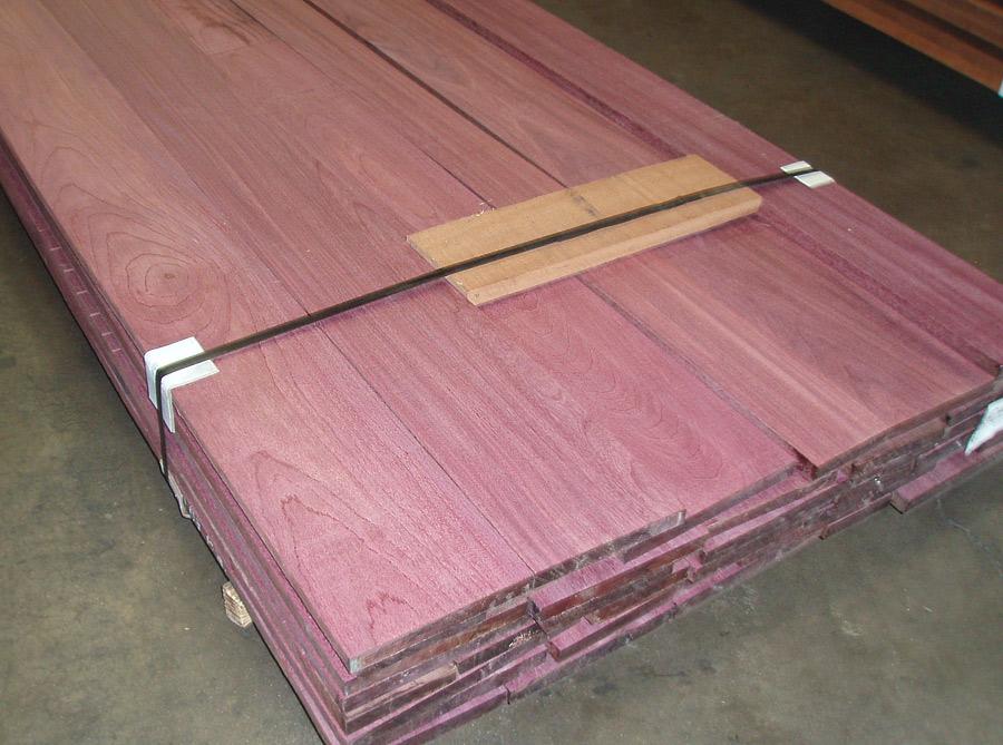 Purple Heart Wood Stain