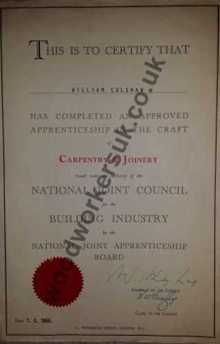 Carpentry & Joinery Advanced Craft City & Guilds
