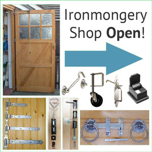 Ironmongery for Gates & Garage Doors