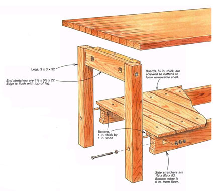 How To Make Knock Down Furniture