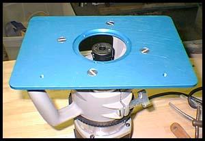 Aluminum Router Plate Insert