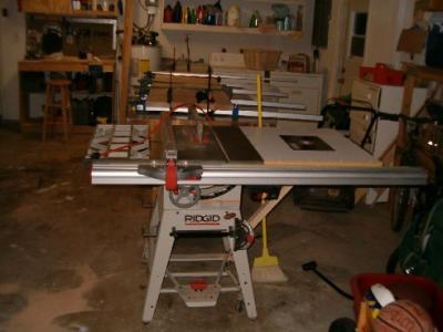 Ridgid Table Saw Rip Fence