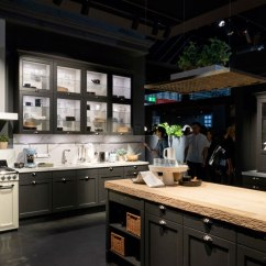 Kitchens To Go Bamboo Flooring In Kitchen Trends Continue The Dark Side Woodworking Canada