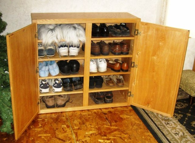 How To Make A Wooden ShoeRack