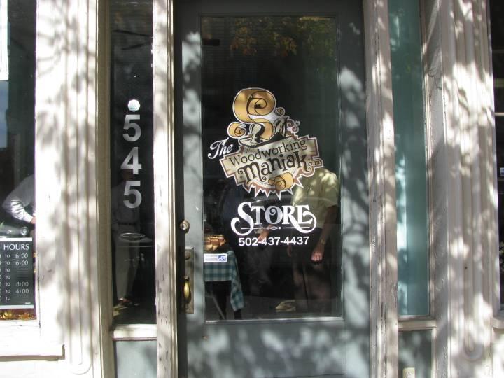Front Door at 545 Main Street | Woodworking Maniak