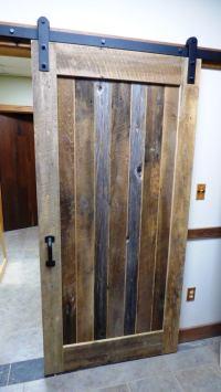 Custom Flat Track Barn-style Doors Made from Reclaimed ...