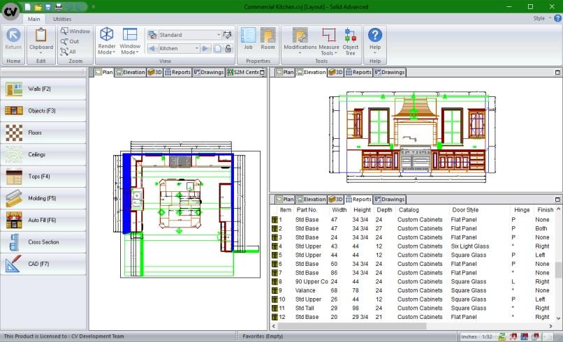 Kitchen Cabinet Manufacturing Software