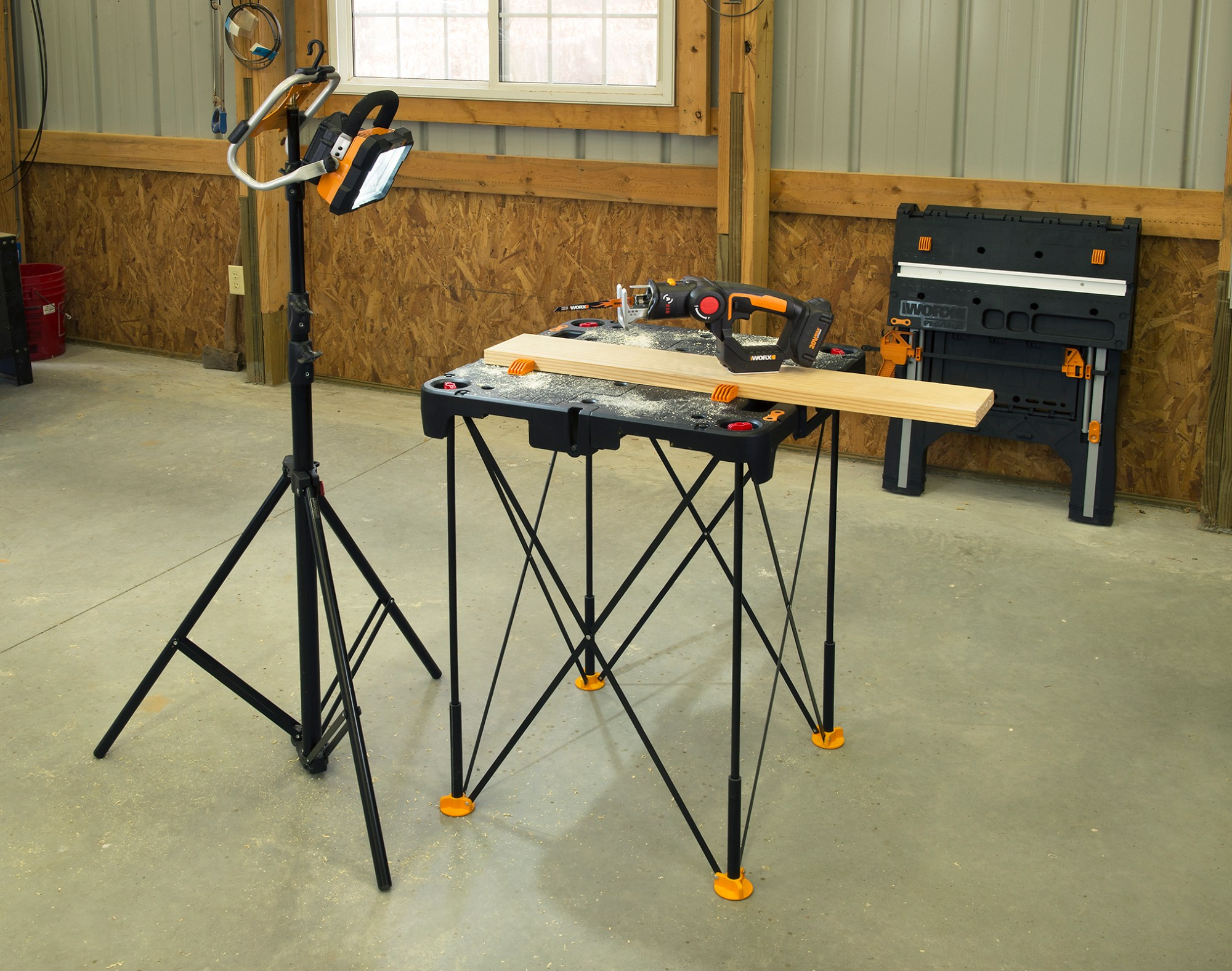 hight resolution of worx releases new portable worktable
