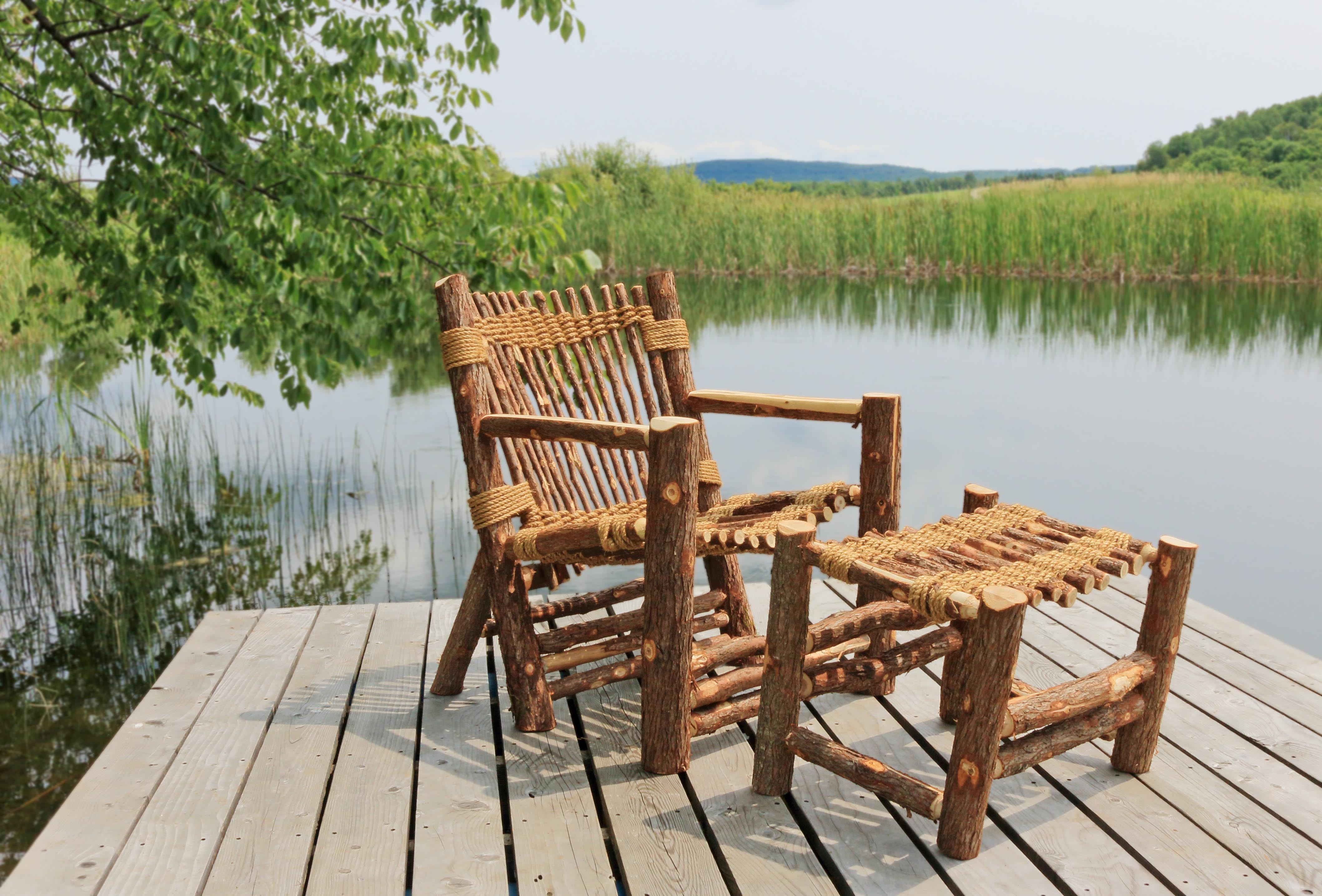 Vermont Cedar Chair Co uses entire tree in outdoor