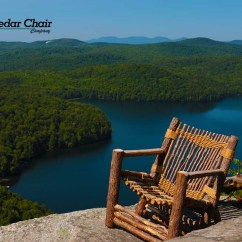Tree Branch Rocking Chair High Attach To Table Vermont Cedar Co Uses Entire In Outdoor