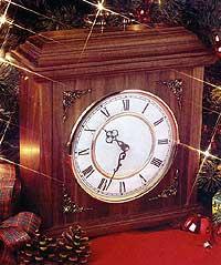 Mission Style Mantel Clock Plans
