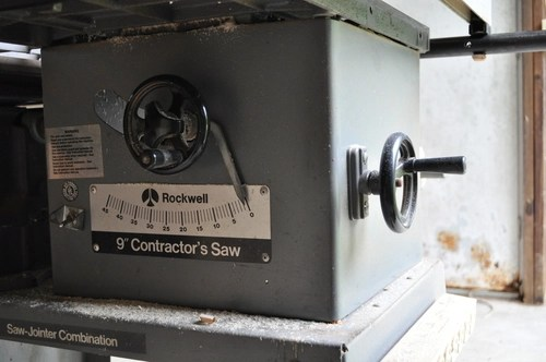 Rockwell Model 10 Contractors Saw