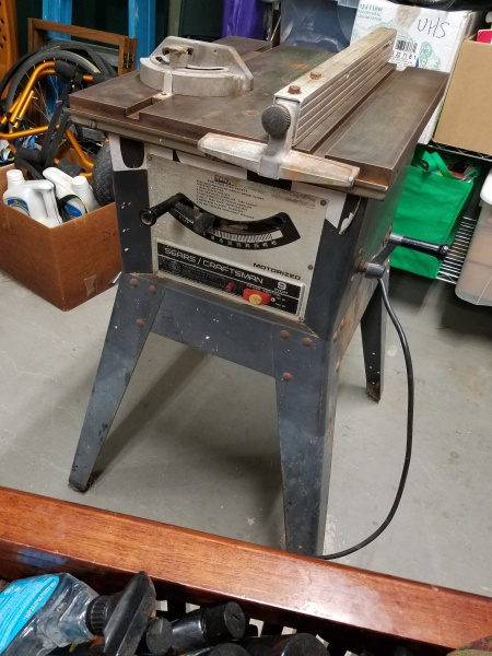 Old Craftsman Table Saw, Need Ideas for Extensions