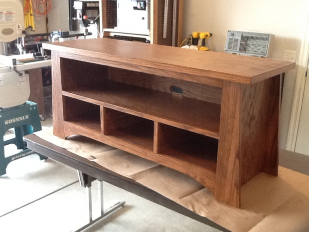 wood plans tv stand