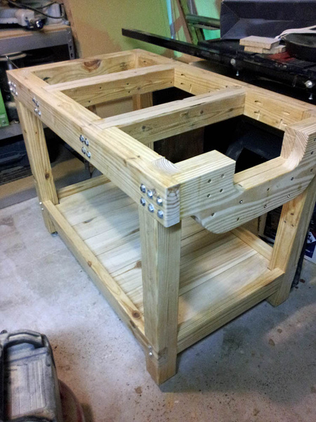 Workbench Top Attachment Woodworking Talk Woodworkers