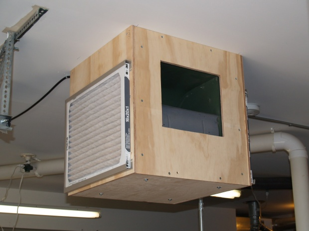 woodworking shop air cleaner