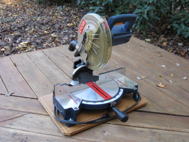 wheel chair motor cheap theater chairs ryobi 10-inch compound miter saw, ts1340 - woodworking talk woodworkers forum