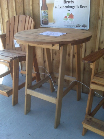 Tall Adirondack Chair Plans