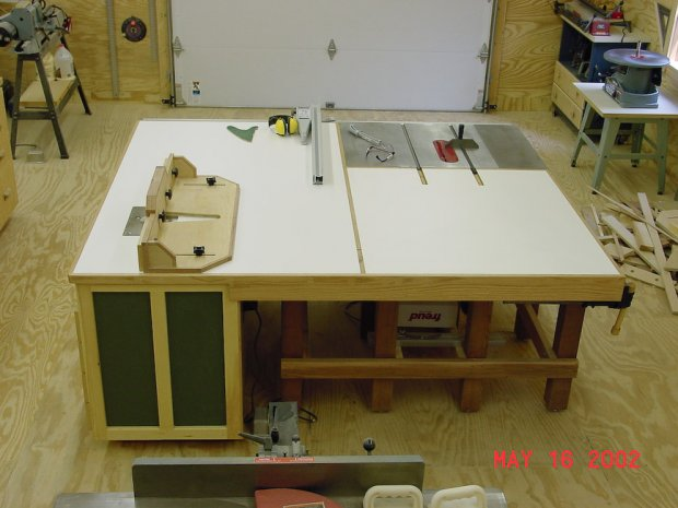 Table Saw Router Table Combo