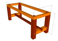 reclaimed wood dining table plans  woodworktips