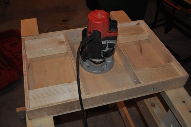 Milwaukee Router Table