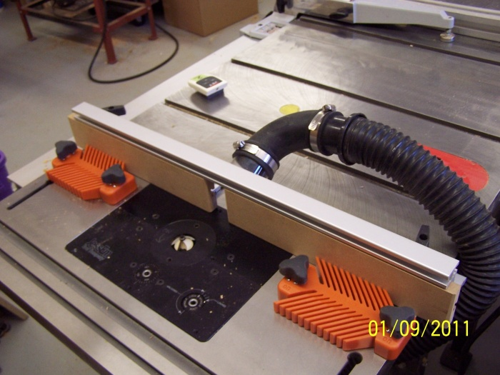 Bench Dog Router Table Extension